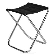 Ultra Light Aluminum Alloy Outdoor Folding Stool Fishing Chair From 14,95 for Euro 11,90