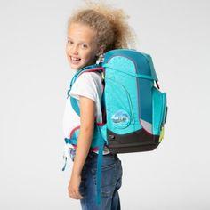 ergobag cubo Schulrucksack-Set 5 Teilig HoopBaer Sling Backpack, Backpacks, Bags, Fashion, Old Suitcases, Hang In There, School, Handbags, Moda