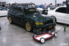 JDM Specialty, Subaru Forester Stanced & Ready