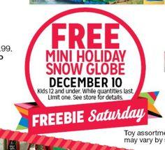 Free Mini Glove At K-Mart Tomorrow!