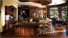 Very nice, long island, custom kitchen! :)