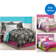 Teen Scene Bed in a Bag Bedding Set Walmart.com