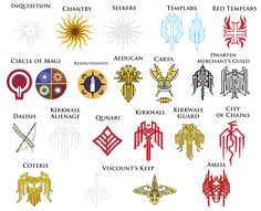 dragon age symbols and meanings - Google Search