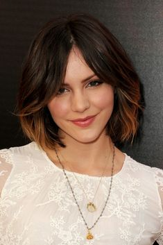 Katherine McPhee.... I love her hair! I want to try this.