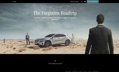 New Mercedes-Benz GLA launch campaign Always restless is supported by 2 Tv spots, The last time, and Home, apart from print ads and a web special. Web Design Examples, Best Web Design, Quiz Questions And Answers, This Or That Questions, Mercedes Gla, The Last Time, Print Ads, Marketing Digital, Storytelling