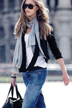 Classic Blazer, tshirt and jeans