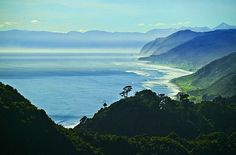 The coast north of Granity, see more, learn more, at New Zealand Journeys app for iPad www.gopix.co.nz