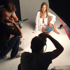 More #behindthescenes from our photo shoot! Repost from supermodel @mirtemaas #YorkdaleStyle