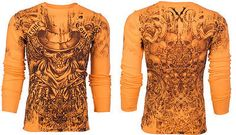 Xtreme-Couture-AFFLICTION-Mens-THERMAL-T-Shirt-OFFERING-Tattoo-Biker-M-3XL-58-c