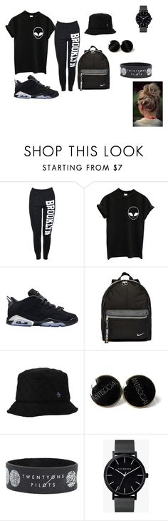 """Dark"" by arkward-poop on Polyvore featuring Retrò, NIKE, Original Penguin, The Horse, women's clothing, women's fashion, women, female, woman and misses"