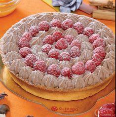 Torta framboises de pâtisserie