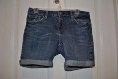 Axcess a Liz Claiborne Company Women's Denim Jean Shorts Size 6 #Axcess #MiniShortShorts