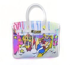 WWW.YEARZEROLONDON.COM #yearzerolondon artwork by #RockyMazzilli #pimpmybag #handpainted #popart #fashionart #paintedlv #custom #louisvuitton #paintedhermes #contemporaryart #bespoke #personalizeyourbag #bagart #paintedbags #chanel #luxurycustom #art #paintedlouisvuitton #oneofakind #monogram #funkybling #paintedbirkin #hermes #luxurylife #luxury #yearzerolondon