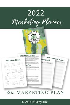 The 2022 Profit Goals: 12 Month Marketing Plan step-by-step marketing planner is for any Empowerpreneur (author, public speaker, coach, creator, blogger – any small business owner). Increase your sales by setting your 2022 profit goals. Plan and organize your marketing campaigns for the year. Buy the easy to use 2022 Profit Goals: 12 Month Marketing Planner. Marketing Plan, Online Marketing, Digital Marketing, Planning And Organizing, Blog Planner, 12 Months, Things To Think About, Organize, Blogging