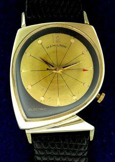 Vintage 1961 Hamilton Electric Meteor Watch - Mad Men Era @ côngtycứudữliệutrầnsang http://sockpanda.com
