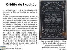 """No decurso do século XV, a comunidade hebraica desenvolveu-se de tal forma que passou a assumir um papel importante na estratificação da sociedade portuguesa, ao nível religioso, cultural e económico. Os judeus agrupavam-se em comunidades (""""as comunas""""), tendo como centro aglutinante a sinagoga. O rabino-mor (chefe máximo dos judeus) era nomeado pelo rei. Com D. Manuel, os JUDEUS escravizados tornaram-se livres. (cont.1)"""