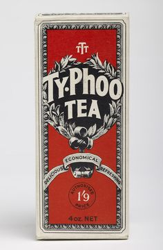Packet of Typhoo Tea | During the early 20th century Birmingham produced many famous food brands such as Cadbury's, Typhoo Tea, Bird's Custard, and Ansells Beer which became staples in homes across the country. Many of these brand names are still recognisable today.  Accession number: 1993 F7.1