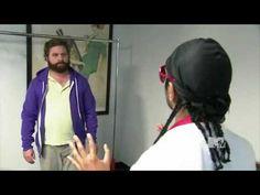 Taavon (Aziz Ansari) teaches Zach Galifianakis about Swag