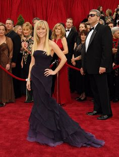 Reese Witherspoon, 2007 - The Best Oscars Dresses Ever | POPSUGAR Fashion