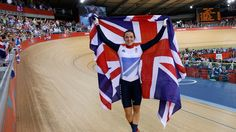 Victoria Pendleton of Great Britain celebrates with a Union Jack after winning gold in the Women's Keirin Track Cycling final on Day 7 of the London 2012 Olympic Games at Velodrome on August 2012 in London, England. Toddler Swimming Lessons, Swim Lessons, Victoria Pendleton, Horse Guards Parade, Sports Drawings, Champions Of The World, Track Cycling, 2012 Summer Olympics, Team Gb