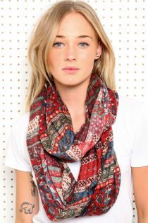 1am sat early 8/31 - Keep-a-palooza part 1   ;;   (tangent)   ;; Crosshatch Maxi-Print Eternity Scarf at Urban Outfitters