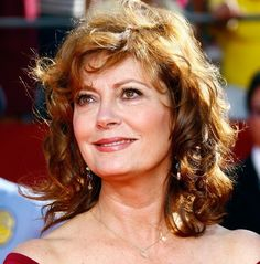Susan Sarandon - I loved her character in Bull Durham. Beautiful woman, more so as she ages.