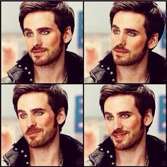And this is the story of how I died. Basically.  Colin O'Donoghue, everybody