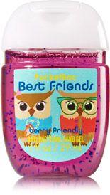 Best Friend Owls PocketBac Sanitizing Hand Gel - Soap/Sanitizer - Bath & Body Works