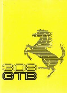 308 GTB - 308 GTS Manual, Owners Handbook