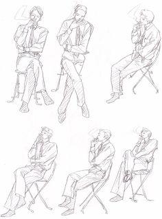 Human Figure Sketches, Body Sketches, Figure Sketching, Figure Drawing, Drawing Sketches, Drawings, Drawing Reference Poses, Anatomy Reference, Drawing Skills