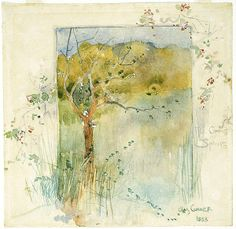 Charles Conder 1888 - The Coming of Spring