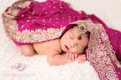 Beautiful Baby Girl - Newborn Photography Alexandria Virginia