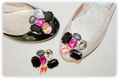 absolutely audrey shoe clips style name leila #shoes #fashion #brooch