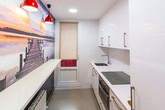 COCINA VINILO - Una vivienda de 47 m2 bien aprovechados