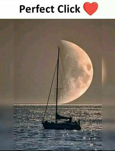 moon and boat perfect click Stunning Photography, Creative Photography, Nature Photography, Amazing Pics, Amazing Art, Awesome, Photo Trop Belle, Pretty Pictures, Cool Photos