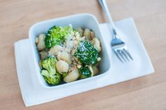 Browned Butter Gnocchi with Broccoli and Pine Nuts