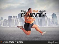 Big But Agile #Organizations by Alvaro González Alorda via slideshare