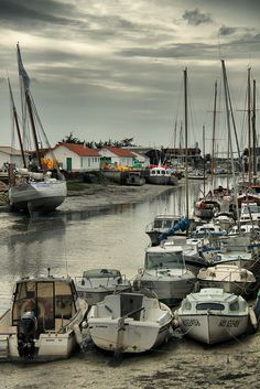 Noirmoutier | France avant la construction du pont quand on utilisait le GOIS.....