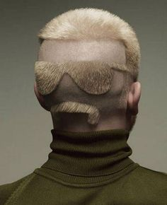 Crazy hair design