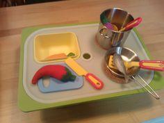 Travel play kitchen from TROFAST storage box - IKEA Hackers