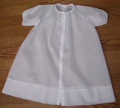 The Old Fashioned Baby Sewing Room: Sewing a Baby Daygown - The Beginning (please note there are 8 parts)