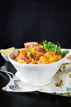 Spicy Chorizo Rice Pot