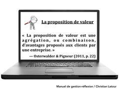 La proposition de valeur- HRImag : HOTELS, RESTAURANTS et INSTITUTIONS Proposition De Valeur, La Proposition, Client, Or, Restaurants, Hotels, Business, Management, Restoration