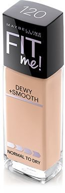 """Maybelline Fit Me! Dewy & Smooth this in shade """"Porcelain 110"""" is a dewy really pale foundation..good for people who have/like the look of pale dewy skin"""