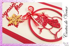 Cartes de Vœux !!! Creations, Personalized Gifts, Greeting Card