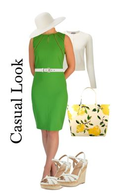 Casual Look by tubino-skirts-dresses on Polyvore featuring mode, Pure Collection, Charles by Charles David, Kate Spade, Gucci and Ace of Something