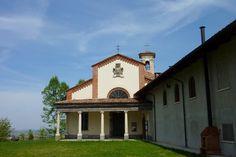 Wine Pass - Trail of the Torion. Sanctuary of the Madonna dei Boschi, Roero