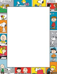 Eureka Peanuts Comic Blocks Computer Paper, Package of 50 Sheets Snoopy Party, Snoopy Birthday, Computer Paper, Printer Paper, Snoopy Classroom, School Classroom, Memo Notepad, Teaching Supplies, School Supplies