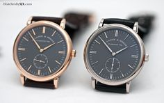 Watches By SJX: How Good is the Most Affordable Gent's Wristwatch from A. Lange & Söhne, the Saxonia?