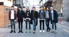 seoul f/w13 fashion week street style - kim wonjung, par jiwoon, do sangwoo, kim pilsu, seo heongseok, kang cheolung, and jo minho